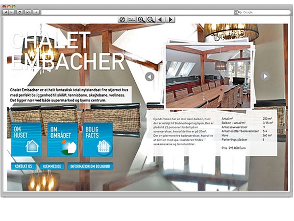 Online brochure for Alpen Travel